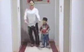 Parents Keeping Kids Busy In Lockdown