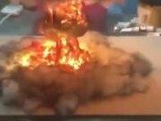A Nuclear Blast Lamp