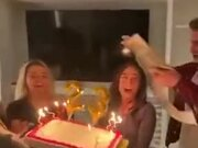 Best Birthday Cake Saving Ever