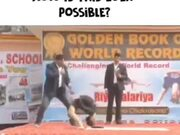 Riya Palariya Creating World Record
