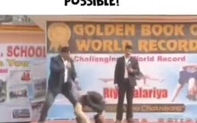 Riya Palariya Creating World Record