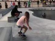 A Small Skater Girl