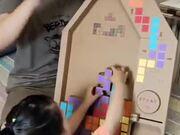 Cardboard Tetris Game