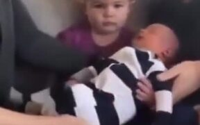 Little Girl Did Not Want To Be A Sister