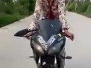 An Environment-Friendly Motorbike