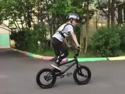 Young Kid Killing It On BMX