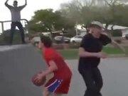 Skateboarding Basketball Game
