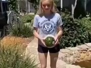 The Melon Didn't Like Her