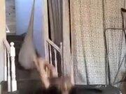 Parkour Guys Training Inside Home