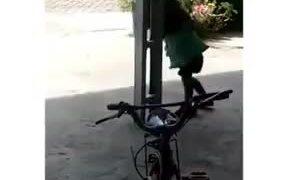 Adorable Stupid Little Girl