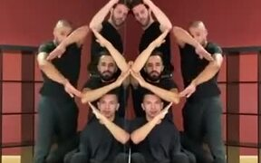 A Gorgeous Dance Form Using Hands