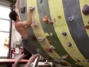 A Rock-Climbing Machine