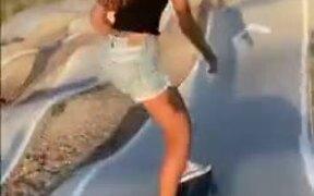 A Skateboard Ramp Like This