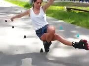 When You Combine Yoga And Skating