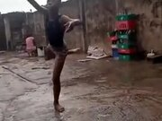 Boy With A Natural Talent For Ballet