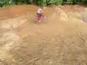 Wild Offroad Bike Stunt