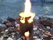 Most Innovative Fire Log Ever