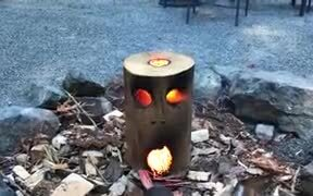 Most Innovative Fire Log Ever
