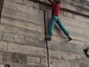 Inhuman Wall Climbing By A Girl