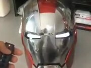 A Really Cool Remote Control Ironman Helmet
