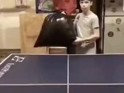 Using Anything To Play Ping Pong