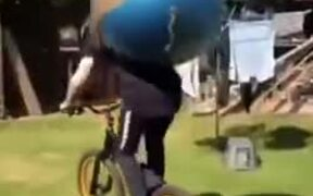 Weirdest Bicycle Trick Of Them All