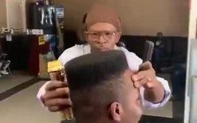 How A Real Dedicated Barber Looks Like