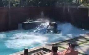 Jetski In A Pool