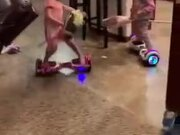 Little Kids Pro At Hoverboard
