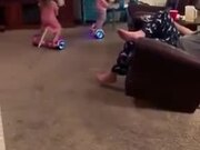 Little Kids Pro At Hoverboard
