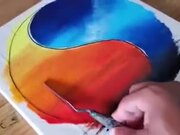 Satisfying Use Of Tape In Drawing