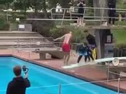 Double Bouncing Fail In A Pool