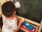 A 2 Years Old Mathematician