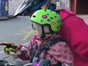 When A Little Girl Starts The Bike