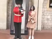 Just Another Girl Bothering Another Queen's Guard