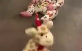 Toddler Spinning Like The Toy