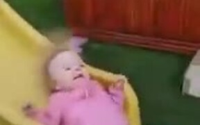 Baby Experiencing Static Electricity Mohawk