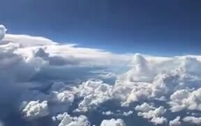 A Storm Recorded From A Plane