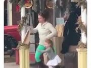 Mum Having A Crazy Time With Little Daughter