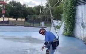 How To Teach Elderly People Skateboarding
