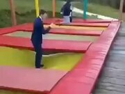 A Painful Trampoline Mishap