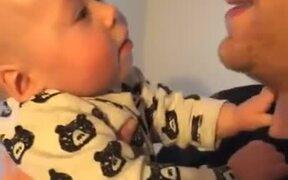 Baby Loves Dad's Small Beard