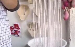 Another Noodles Making Technique