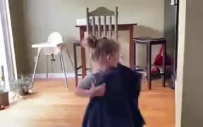 Little Girl Trying Out Magic
