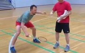 How A Pro Practices Badminton