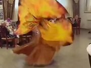 A Gorgeous Firey Dance Without Fire