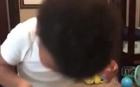 Children Hilariously Failing At Bubble Blowing