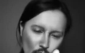 Girl Transforming Into Johnny Depp