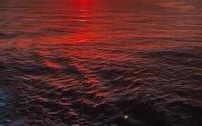 Red Ocean Near Scotland