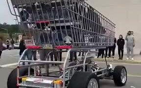 World's Baddest Shopping Cart